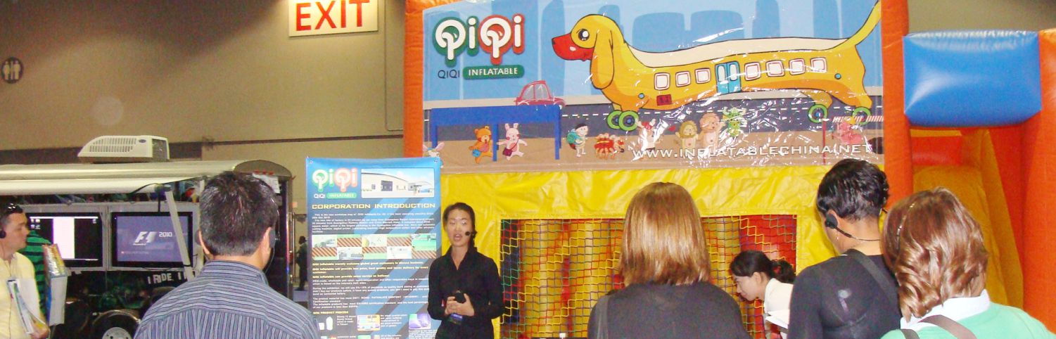 QIQI toys attend IAAPA show from the year of 2010