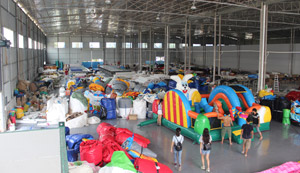 Inflatable Products Training In QIQI New Factory