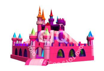 Pink Paradise inflatable city