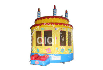 cake shape jumping castle