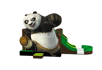Panda Castle with Slide