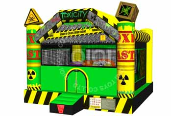 INFLATABLE TOXICITY BOUNCE HOUSE