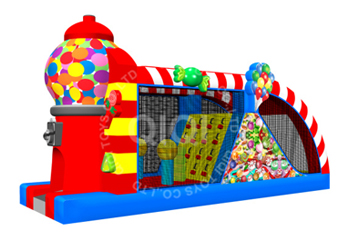 candy party theme obstacle