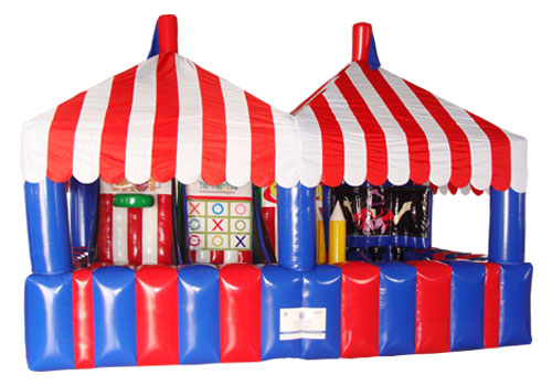 4-in-1 Inflatable Midway Carnival Game