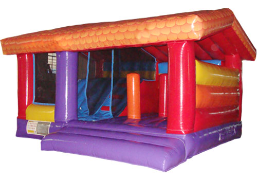 4 in 1 Kids Inflatable House Combo