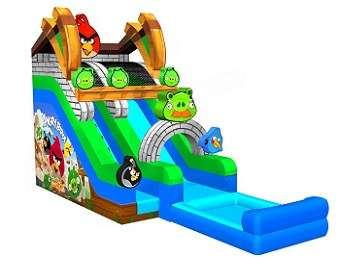 Angry Birds Water Slide for Fun