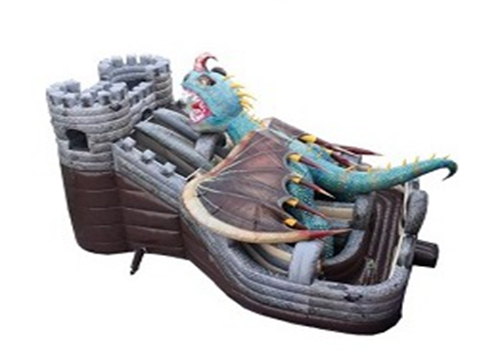 Legend- Fire Dragon Castle Giant Slide