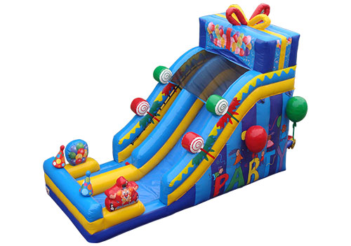Birthday Gift Inflatable Slide