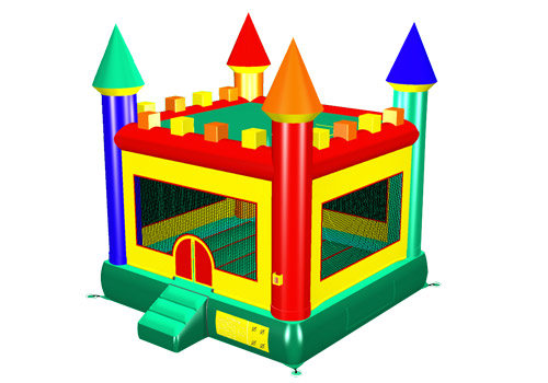 Bright Funny Bouncer Castle