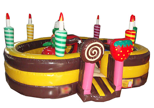 Birthday Cake Inflatable Playland
