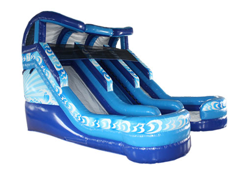 Classic Double-Lane Water Slide