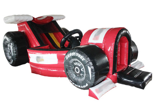 Classic formula inflatable car slide