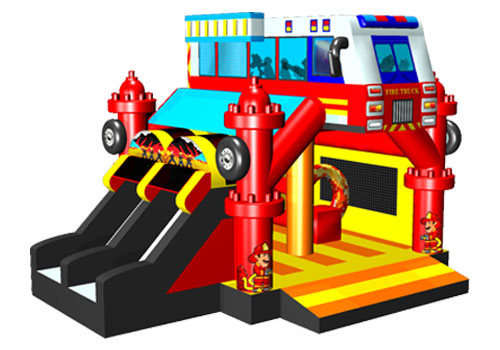Commercial Fire Fighting Inflatable Combo