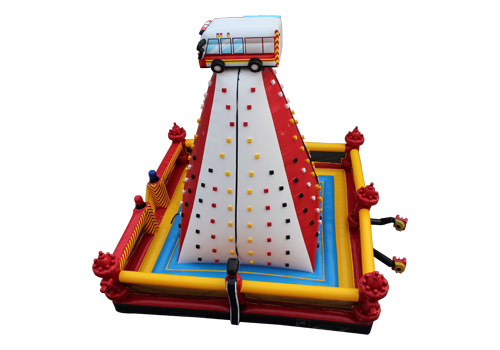 Commercial Fire Truck Climbing Wall