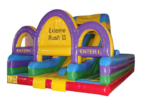 Exterme Rush II Inflatable Obstacle Course