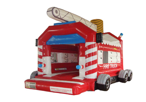 Fire Truck bouncy castle