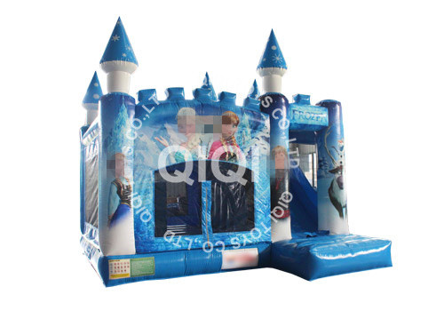 Frozen Inflatable Castle Combo