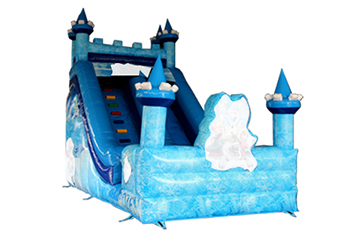 Frozen Inflatable Castle Slide
