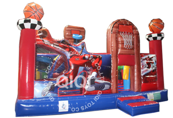 Inflatable Basketball Paradise
