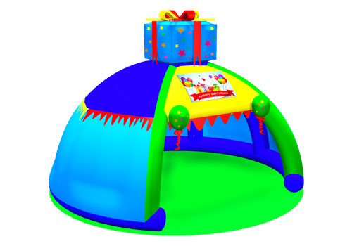 Inflatable Birthday Party Gift Box Tent