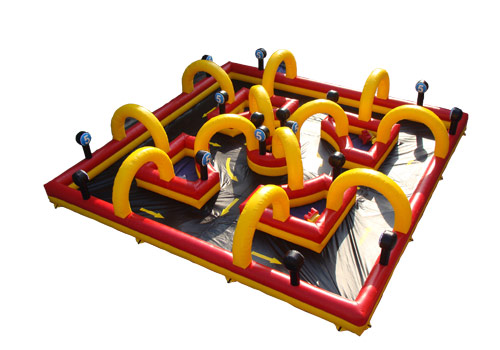 Inflatable Fantastic Race Track