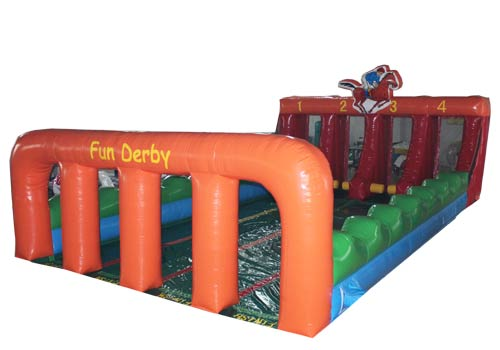 Inflatable Horse Racing Derby