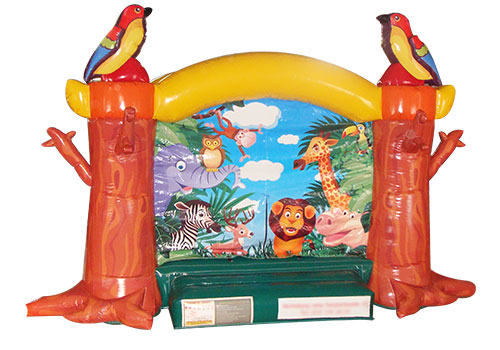 Inflatable Jungle Animal Bouncer