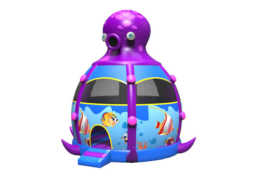Inflatable Octopus Bouncy Castle