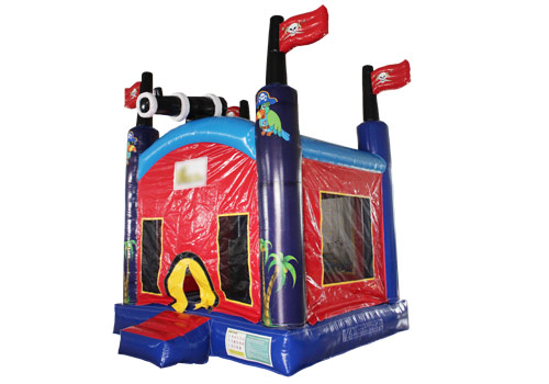 Inflatable Pirate bouncy castle