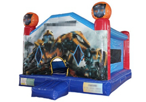 Inflatable transformers bumblebee bouncer