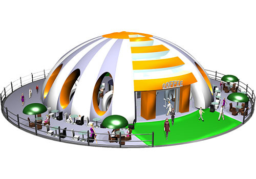 MODERN TENT -- NEW COFFEE TIMES