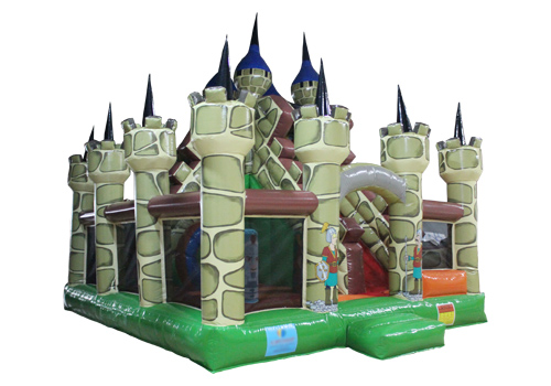 Medieval Castle Themed Inflatable Playground