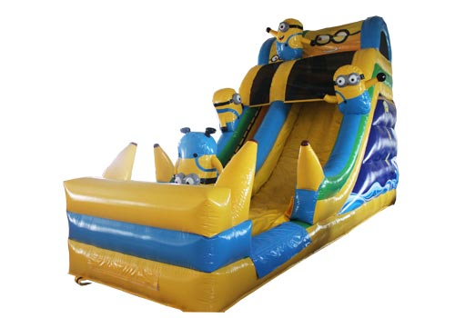 Minion Inflatable Slide With Pool