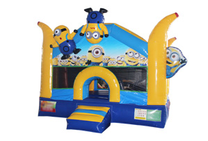 New Minion Inflatable Despicable Me Bouncer