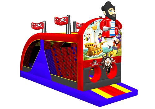 Pirate Inflatable kids Obstacle Course