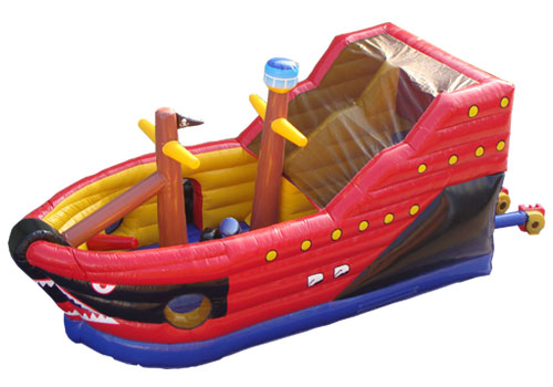 Pirate Ship Inflatable Playground