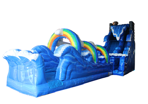 Rainbow and Wave Water Slide Slip