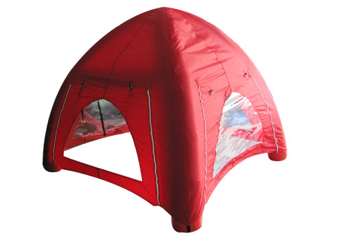 Red Inflatable Camp Tent
