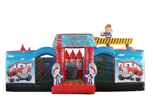 Rescue Operation Inflatable Amusement Park