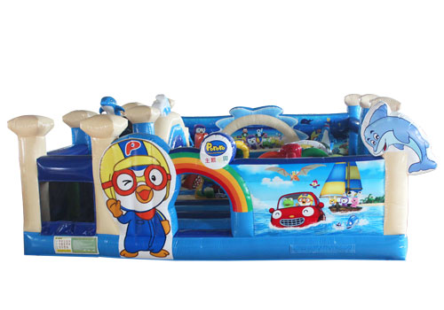 Seaworld Inflatable Toddler Playground