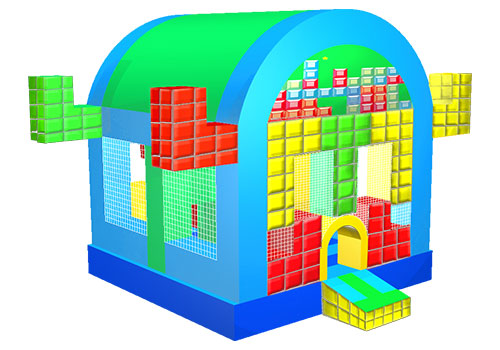 Tetris Inflatable Bouncy Castle