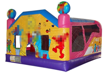 The Sesame Street 4 in 1 Bounce House