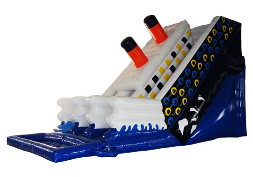 Titanic Double-lane Inflatable Slide