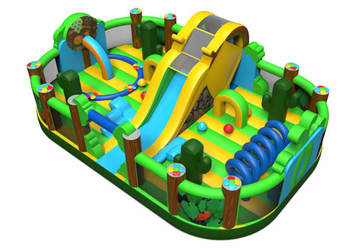 Water Jug Garden Inflatable Park