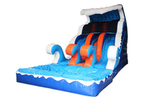 Wave Inflatable Pool Slide