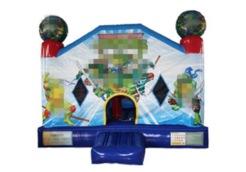 Ninja Turtles Inflatable Bouncy House