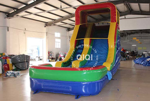 Cheap inflatable water slide for sale