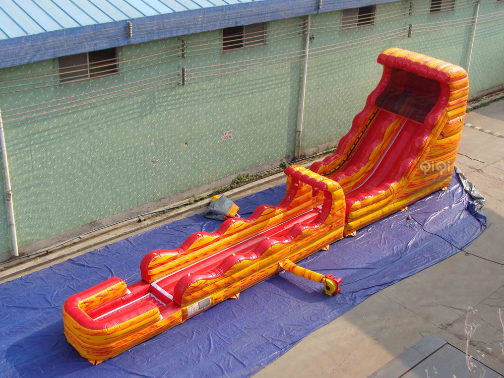 Commercial Water Slide Combination