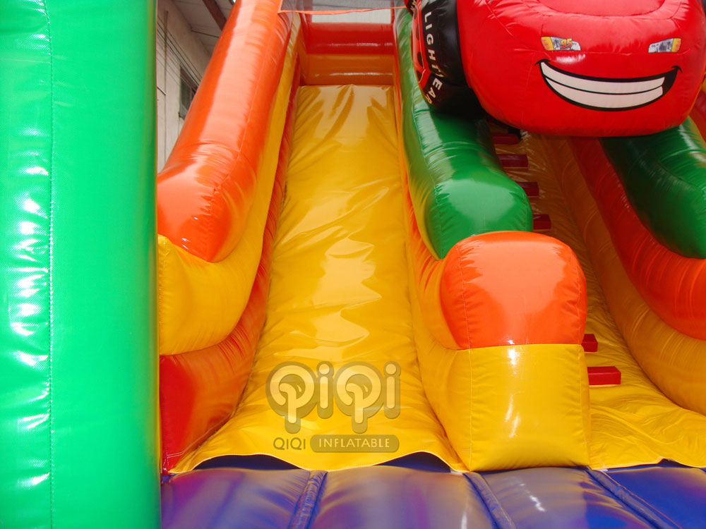 Disney Cars Double-Lane Inflatable Slide