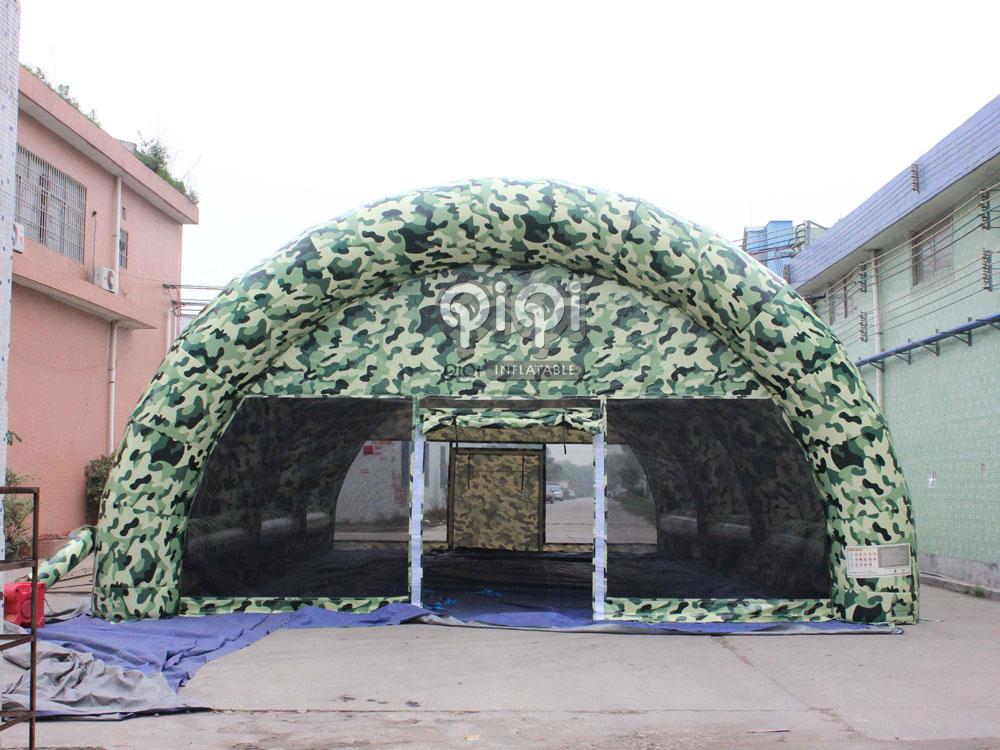 Inflatable military camouflage color tent & Inflatable military camouflage color tent-QIQI TOYS INFLATABLES